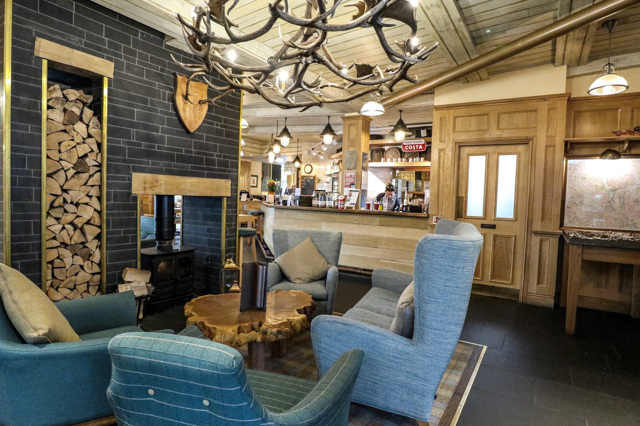 Bar & Restaurant at Keswick Reach Lodge Retreat, The Lake District