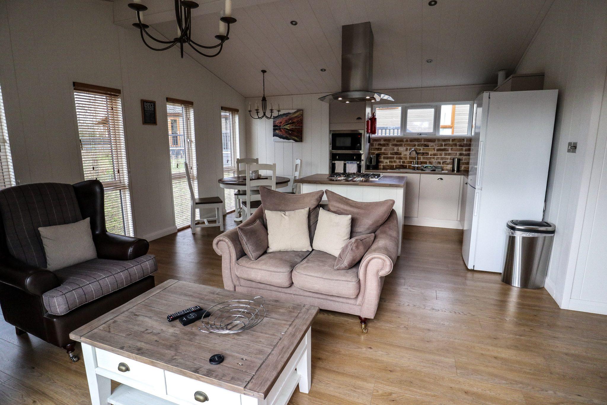 Keswick Reach Lodge Retreat Inside, The Lake District