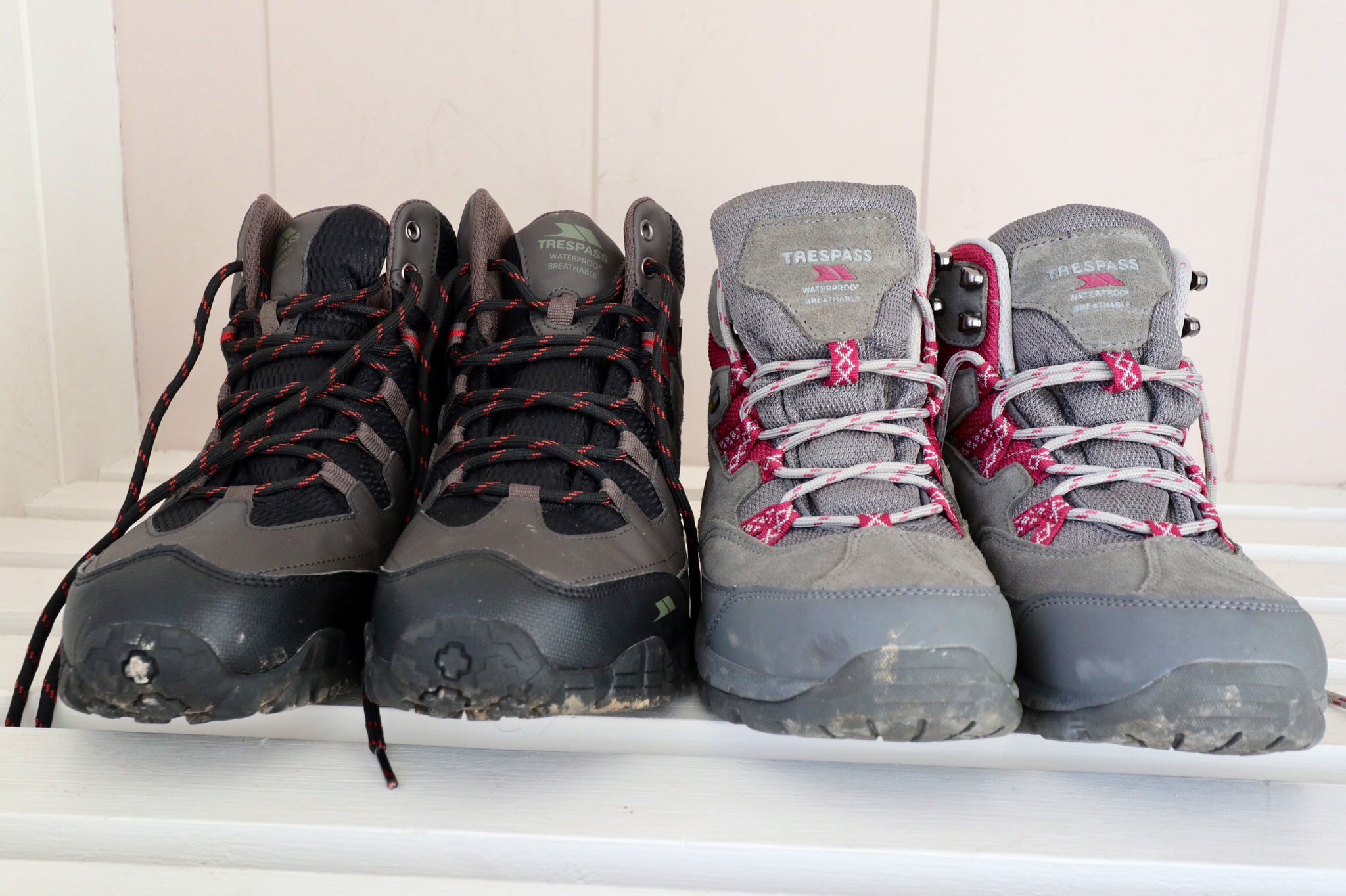 Walking Boots at Keswick Reach Lodge Retreat, The Lake District