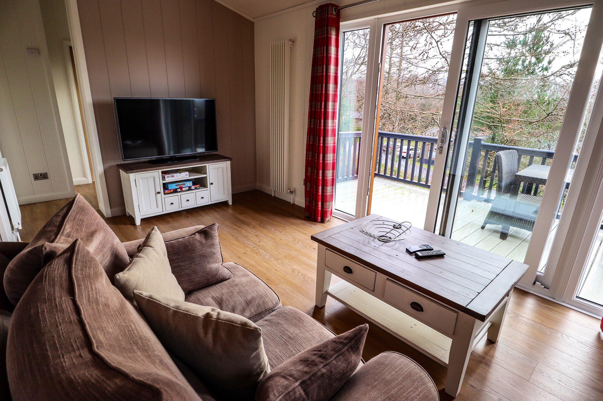 Lodge Number 19 at Keswick Reach Lodge Retreat, The Lake District