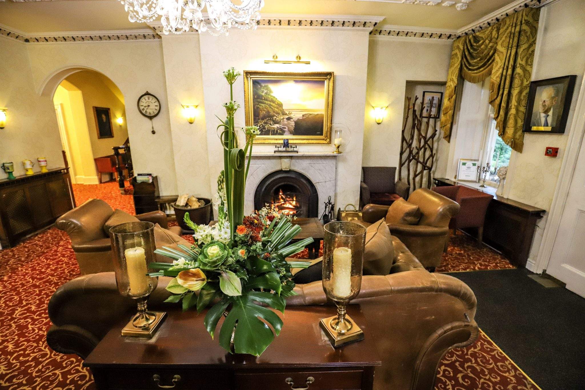 Reception at The Wordsworth Hotel & Spa, Grasmere, The Lake District