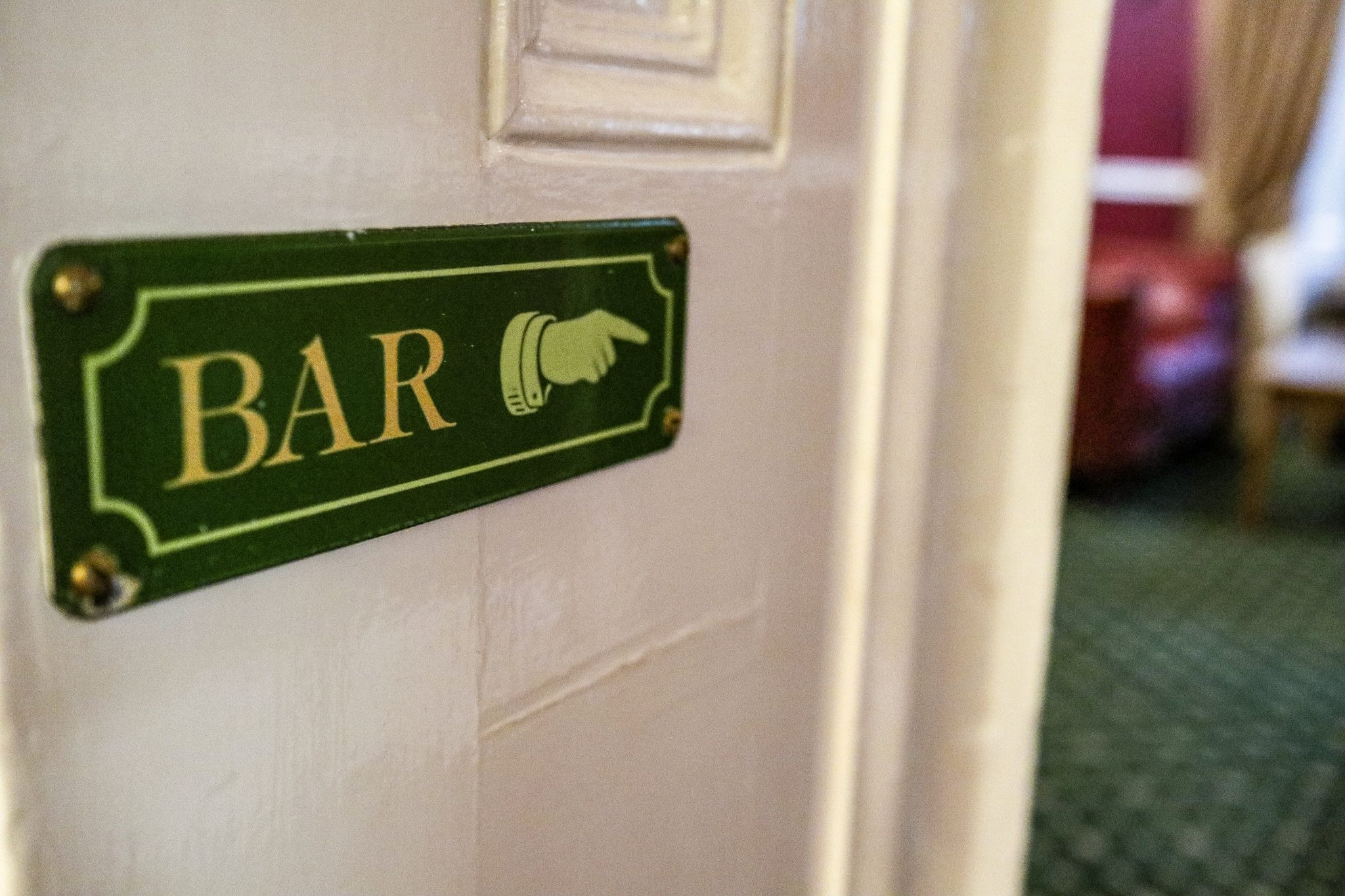 Bar at The Wordsworth Hotel & Spa, Grasmere, The Lake District