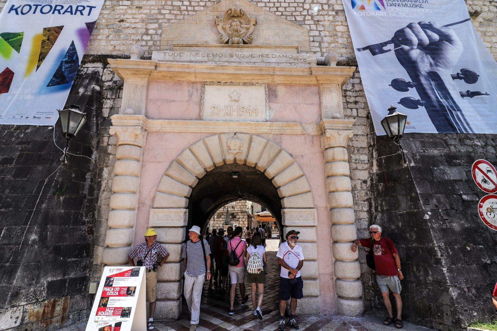 Kotor Gate, Montenegro