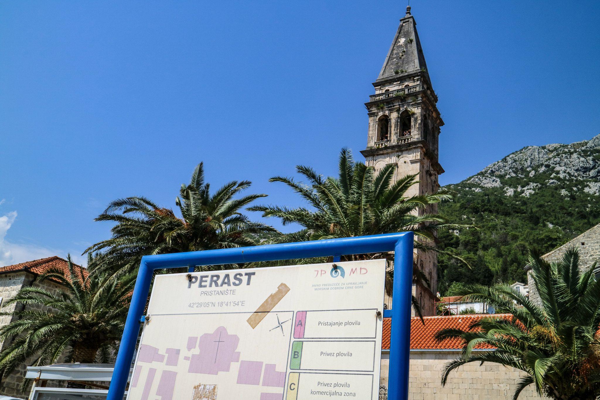 Perast, near Kotor, Montenegro