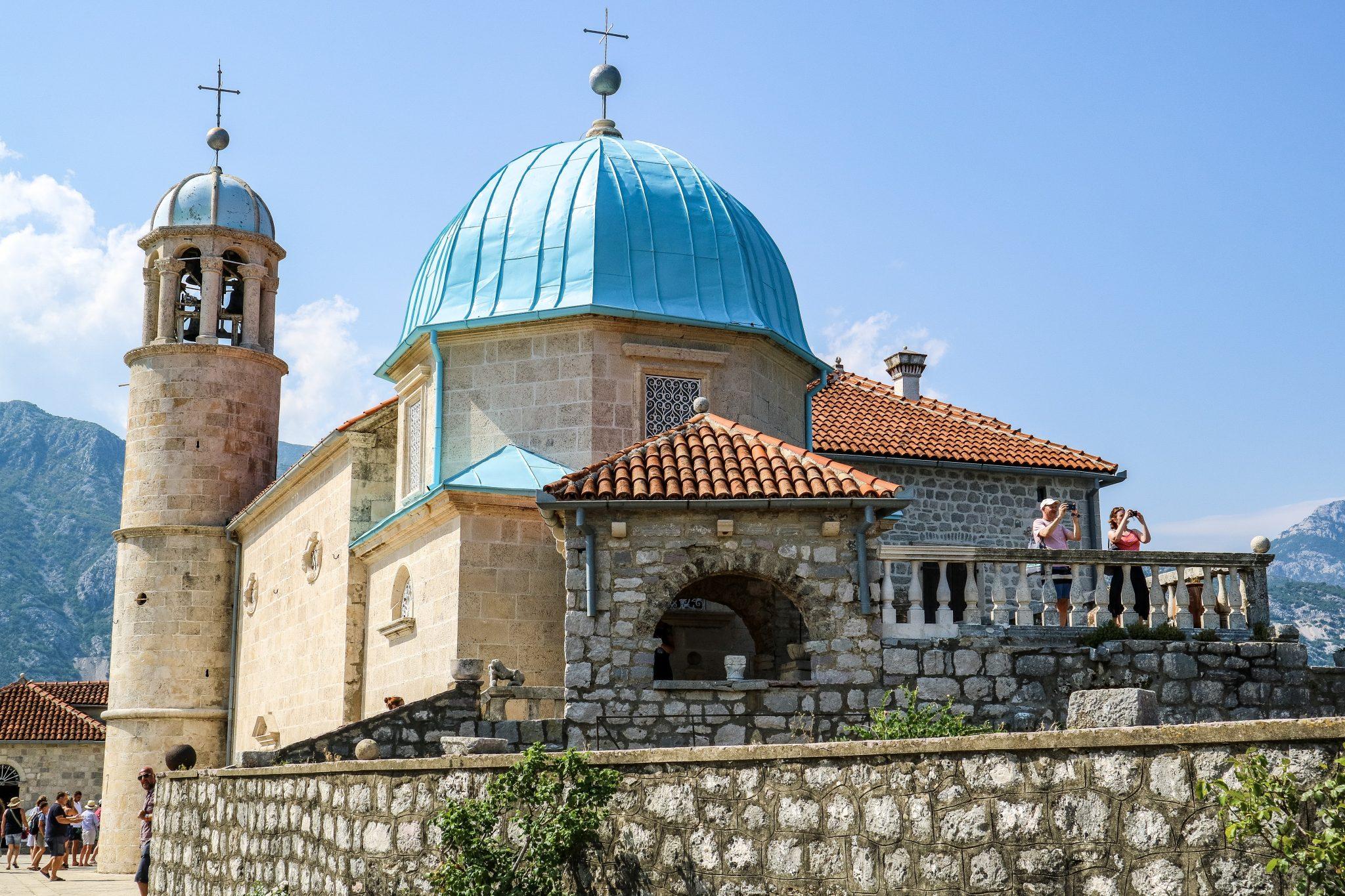 Lady of The Rocks, Near Kotor, Montenegro