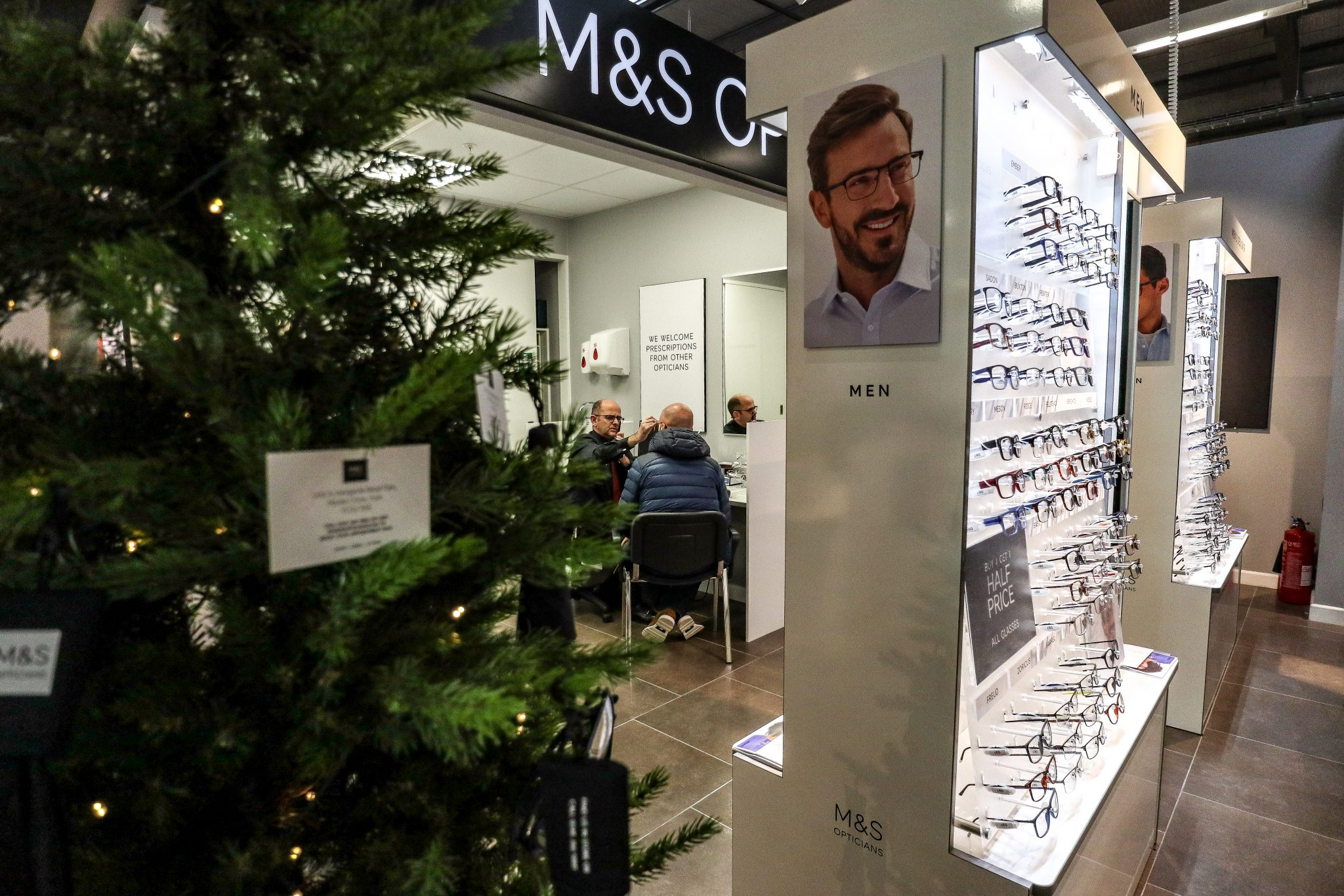 Glasses from M&S Opticians